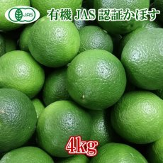 画像2: 無農薬・無添加【かぼす】有機かぼす A級品 4kg (約40個分) (2)